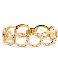 Kate Spade - Horseshoe Link Bracelet - Lyst