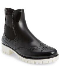 Dav - Leeds Brogue Rain Boot - Lyst
