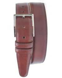 Martin Dingman | 'samuel' Leather Belt | Lyst