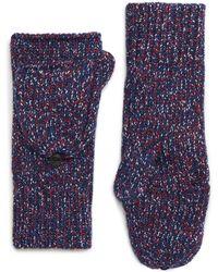 Rag & Bone - Cheryl Mitten (pink) Extreme Cold Weather Gloves - Lyst
