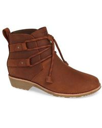 Teva - De La Vina Shorty Waterproof Bootie - Lyst