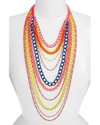 Adia Kibur - Layered Link Necklace - Lyst