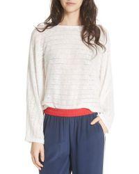 Joie - Ramie Cotton Sweater - Lyst