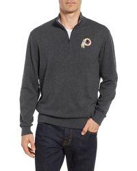 Cutter & Buck - Washington - Lakemont Regular Fit Quarter Zip Sweater - Lyst