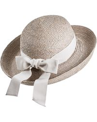 Helen Kaminski Newport Raffia Straw Hat - Multicolor