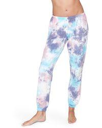 Spiritual Gangster Perfect Tie Dye Sweatpants - Blue