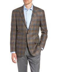 Hart Schaffner Marx - Classic Fit Plaid Wool Sport Coat - Lyst