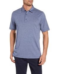 Cutter & Buck Forge Heathered Performance Polo - Blue
