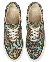 Keds - Keds X Rifle Paper Co. Anchor Lively Floral Slip-on Sneaker - Lyst