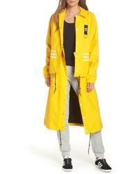 adidas Originals X Olivia Oblanc Convertible Trench Coat