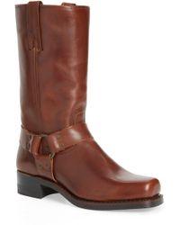 Frye 12r Harness Boot - Brown