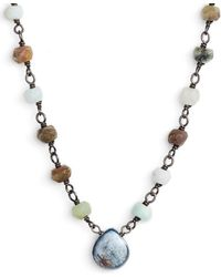 Ela Rae - Beaded Collar Necklace - Lyst