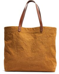Madewell Canvas Transport Tote - Multicolor