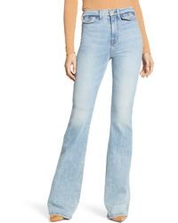 7 For All Mankind Modern Flare Leg Jeans - Blue