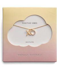 Estella Bartlett - Positive Vibes Pendant Necklace - Lyst
