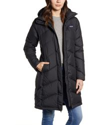 Patagonia Down With It Hooded Down Parka - Black