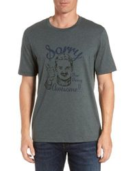 Travis Mathew - 'sorry' Crewneck T-shirt - Lyst