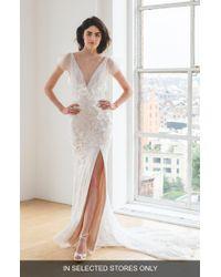Ines by Ines Di Santo - Karolina V-neck Wedding Dress - Lyst