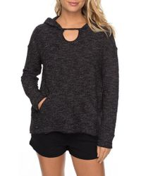 Roxy - Crazy Waves Keyhole Hoodie - Lyst