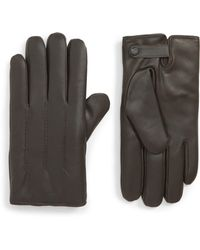Ted Baker - Leather Gloves - Lyst