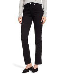Caslon - Caslon Slim Straight Jeans - Lyst