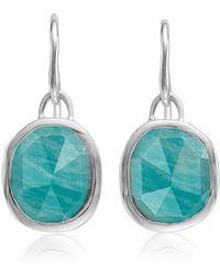 Monica Vinader   Siren Semiprecious Stone Drop Earrings   Lyst