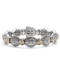 Konstantino - 'silver & Gold Classics' Link Bracelet - Lyst