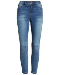 Tinsel - High Waist Skinny Jeans - Lyst