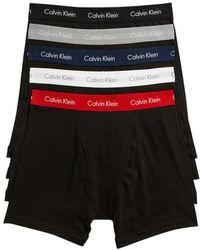 CALVIN KLEIN 205W39NYC - 5-pack Boxer Briefs - Lyst