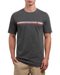 Volcom - System Manic Graphic T-shirt - Lyst
