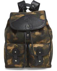 Ghurka Blazer Canvas Backpack - Green