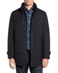 Cardinal Of Canada Quilted Car Coat - Blue