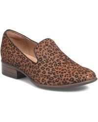 Söfft Severn Genuine Calf Hair Loafer - Brown