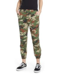 Tinsel Camouflage Utility Pants - Green