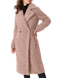 Bernardo Faux Fur Jacket - Pink
