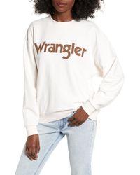 Wrangler - Retro Logo Sweatshirt - Lyst