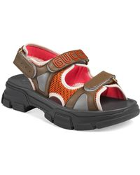 ad0178eca8ee Lyst - Gucci Gg Thong Sandals in Black for Men