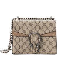 Gucci - Mini Dionysus Gg Supreme Shoulder Bag - Lyst