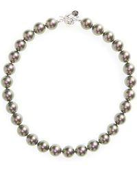 Majorica - 14mm Simulated Pearl Strand Necklace - Lyst