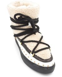 Inuikii Curly Rock Shearling Sneakers - Multicolor
