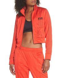 Alexander Wang - Adidas X Alexander Wang Crop Track Jacket - Lyst