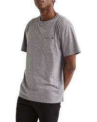 Richer Poorer Pocket Sleep T-shirt - Grey