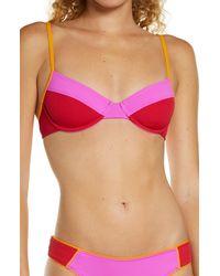L*Space - Missy Bikini Top - Lyst
