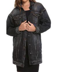 PRPS - Oversize Denim Jacket - Lyst