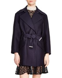 Sandro - Marius Short Trench Coat - Lyst