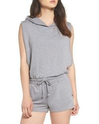 Joe's - Hooded Romper - Lyst