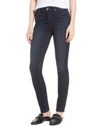 PAIGE - Transcend Vintage - Hoxton High Waist Ultra Skinny Jeans - Lyst