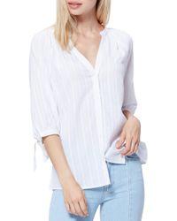 PAIGE Freesia Cotton Top - White