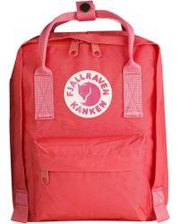 Fjallraven Fjällräven 'mini Kånken' Water Resistant Backpack - Pink