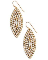 Sandy Hyun   Marquise Statement Earrings   Lyst